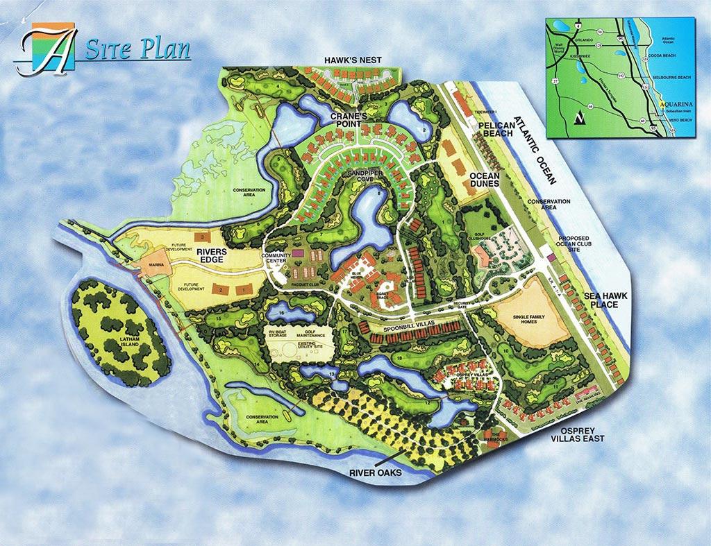 ocean dunes at aquarina brevard ocean indian riverfront luxury aquarina beach and country club site plan